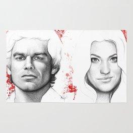 Dexter and Debra Rug