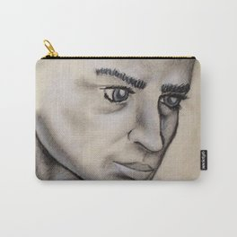Male Face Light Study Carry-All Pouch