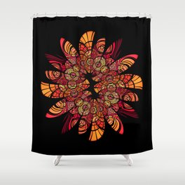 Autumn Wreath Shower Curtain