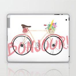 Bonjour! Bicycle Laptop & iPad Skin