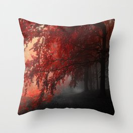 Autumn mood  Throw Pillow