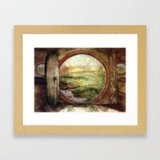The World is Ahead Framed Art Print