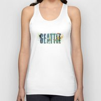 seattle Tank Tops featuring Seattle by Tonya Doughty