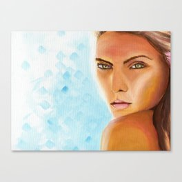 Sunkissed Face Canvas Print
