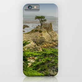 Lone Cypress, Pebble Beach, California iPhone Case