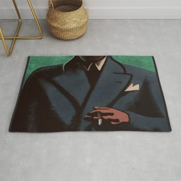 Man In The Dark Rug