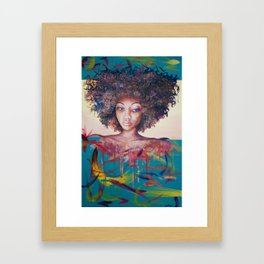 Hazard Framed Art Print