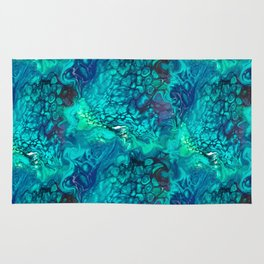 Magical water surface Rug