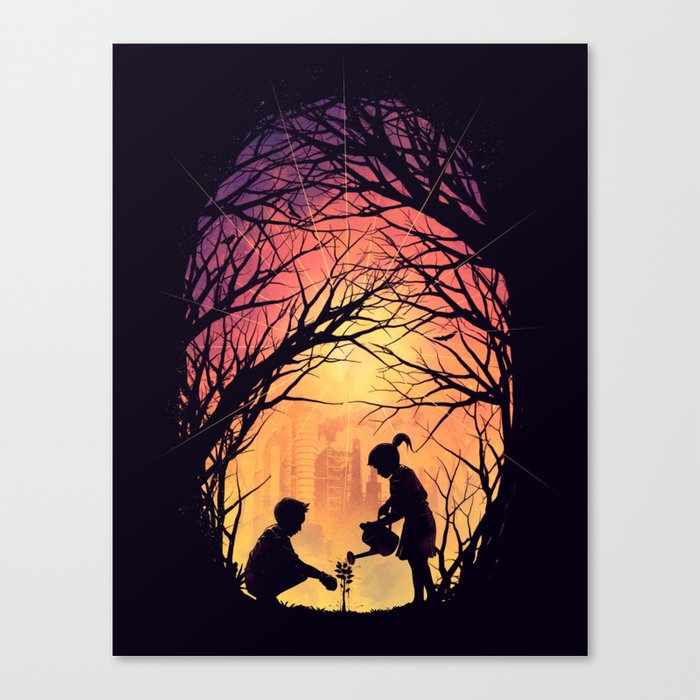 Reviving Nature Canvas Print