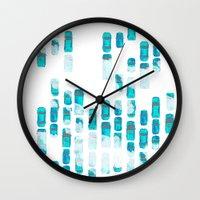 cars Wall Clocks featuring Cars by Anna Pellegrini Annamonium