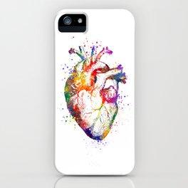Heart Anatomy Art Heart Watercolor Art Anatomy Art Anatomical Heart Surgery Gift Medical Gift iPhone Case