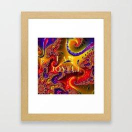 I Am Joyful Framed Art Print