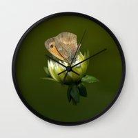 predator Wall Clocks featuring PREDATOR by Miguel Angelo