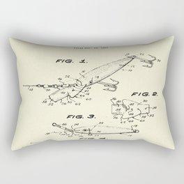 Fishing Lure-1969 Rectangular Pillow