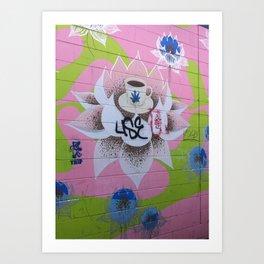 Graffiti Coffee Wall Art Print