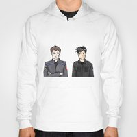 stargate Hoodies featuring John and Rodney by dammitspawk