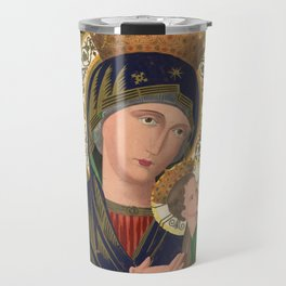 Our Lady of Perpetual Help, 1870 Travel Mug