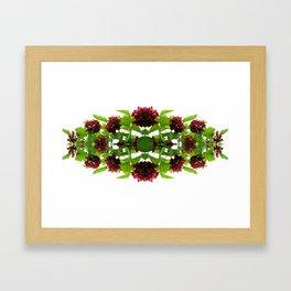 I never promised you a rose garden Framed Art Print