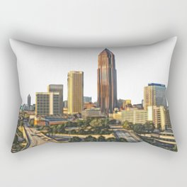 Downtown Atlanta Rectangular Pillow