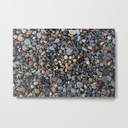 Small pebbles Metal Print