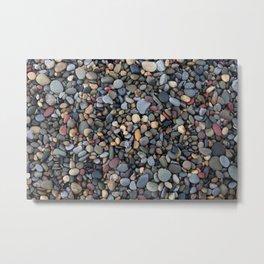 Small pebbles Metal Print