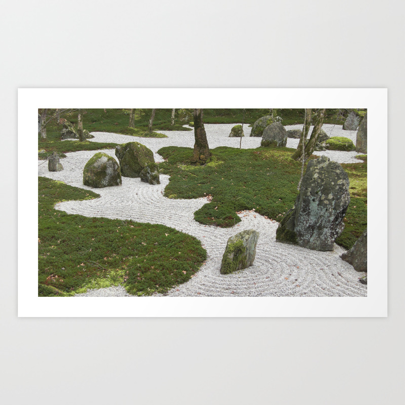 Zen Garden Art Print By Elizabethfirmage Society6