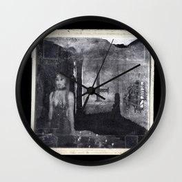 Unsolved Case 46B-18R copy Wall Clock