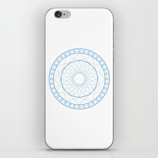 Anime Magic Circle 11 iPhone & iPod Skin