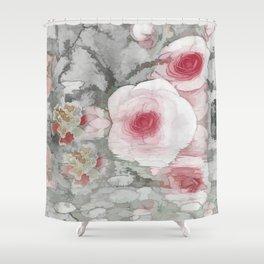 Floral Mirage Shower Curtain