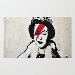 Banksy, Queen Rug