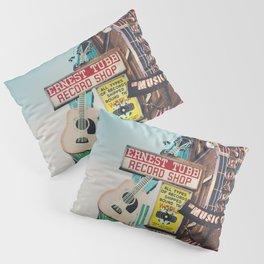 Lower Broadway, Nashville print  Pillow Sham
