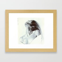 girl 4 Framed Art Print