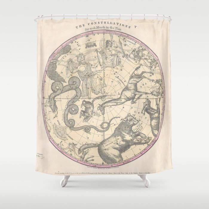 The Constellation Shower Curtain