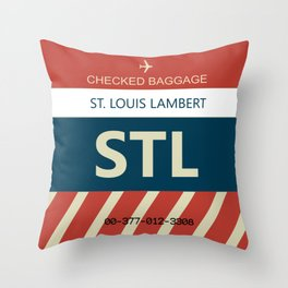 STL Throw Pillow