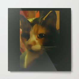 Poised Metal Print