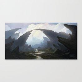 Rocky pass Canvas Print