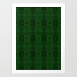 Fun With Light 5 Emerald Art Print