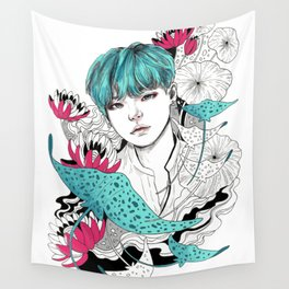BTS Suga Wall Tapestry