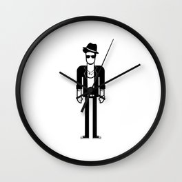 Bruno Mars Wall Clock