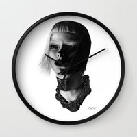 versace Wall Clocks featuring Versace InSanity. by BrittanyJanet Illustration & Photography