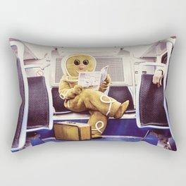 Gingerbread Man At Large Pt3 Rectangular Pillow