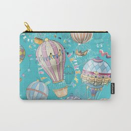 seamless pattern with decorative air  balloons Carry-All Pouch