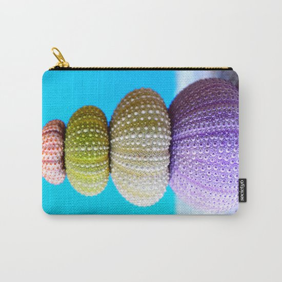 Oursin color coquillage Carry-All Pouch