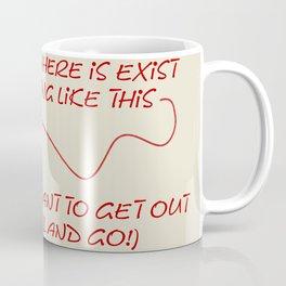 Just pull and go! Coffee Mug