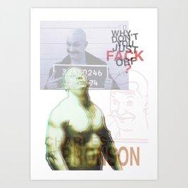 Bronson Art Print