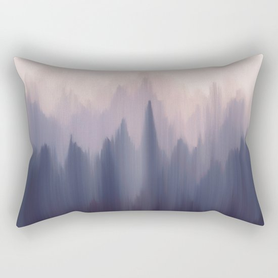 Morning Fog I Rectangular Pillow