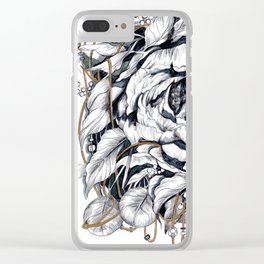 Ties to Home Clear iPhone Case