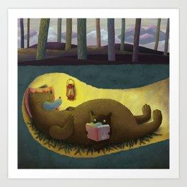 Hibernation Time Art Print