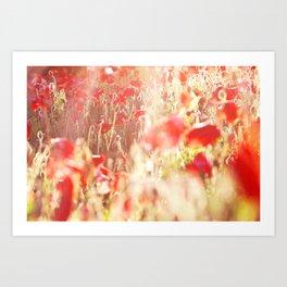 eclaircie Art Print