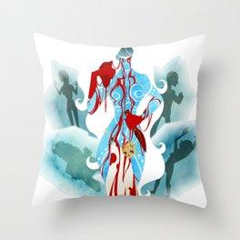 Marvel - Frost Giantess Throw Pillow